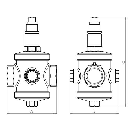 FTH4891NP Schematic - Pressure Reducing Valve