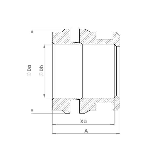 J17DR Schematic - DZR One Piece Reducing Set