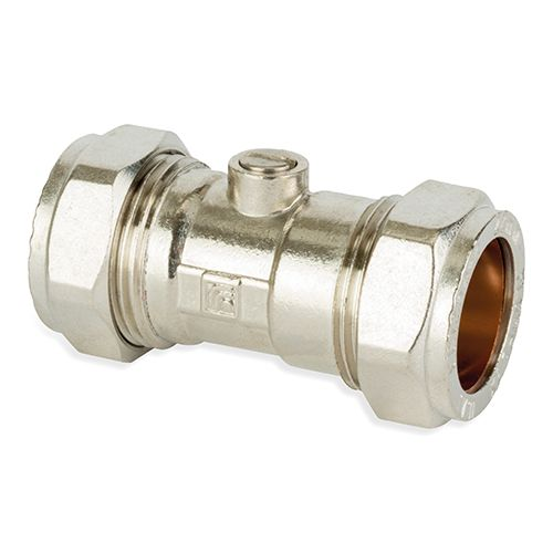 P472CP Image - Chrome Plated Compression Isolation Valve