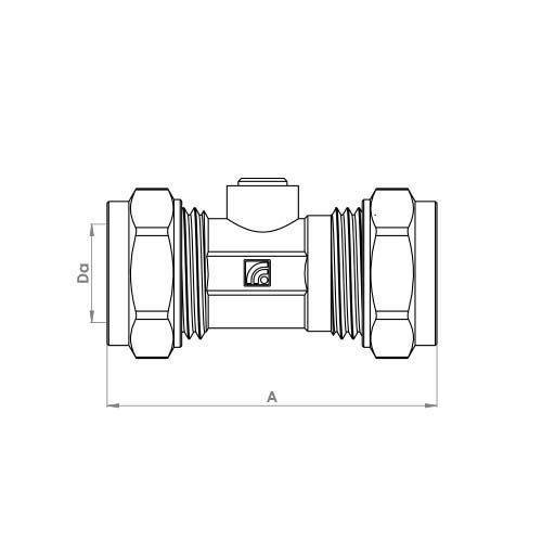 P472 Schematic - Compression Isolation Valve
