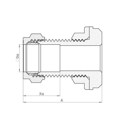 P921 Schematic - Compression Tank Connector