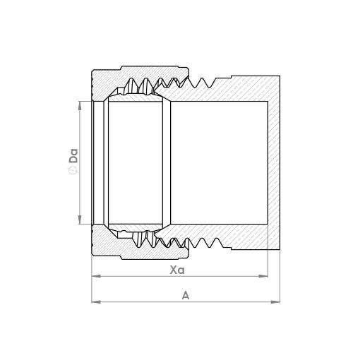 P923 Schematic - Compression Stop End