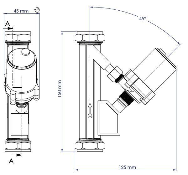 SP21S Schematic - Auto & Manual In Line Micro Pump