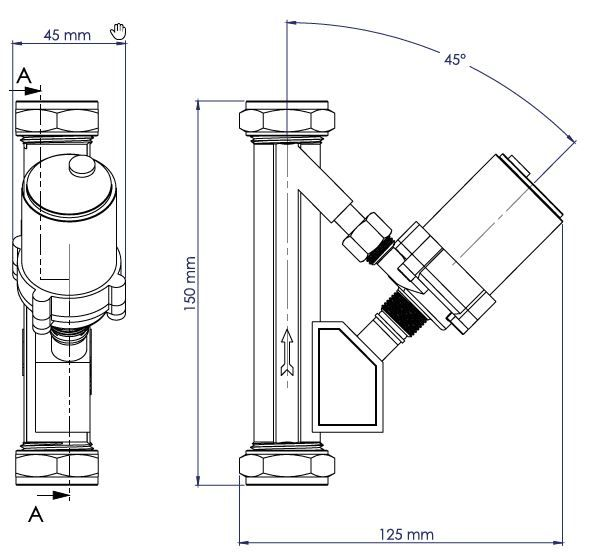 SP2B Schematic - Automatic In Line Micro Pump