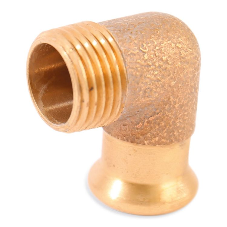 6092GM Image - Copper Press Male Elbow