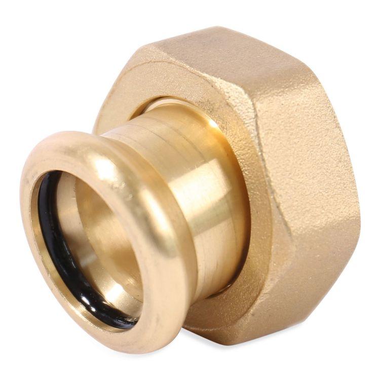 6240GM Image - Copper Press Swivel Connector