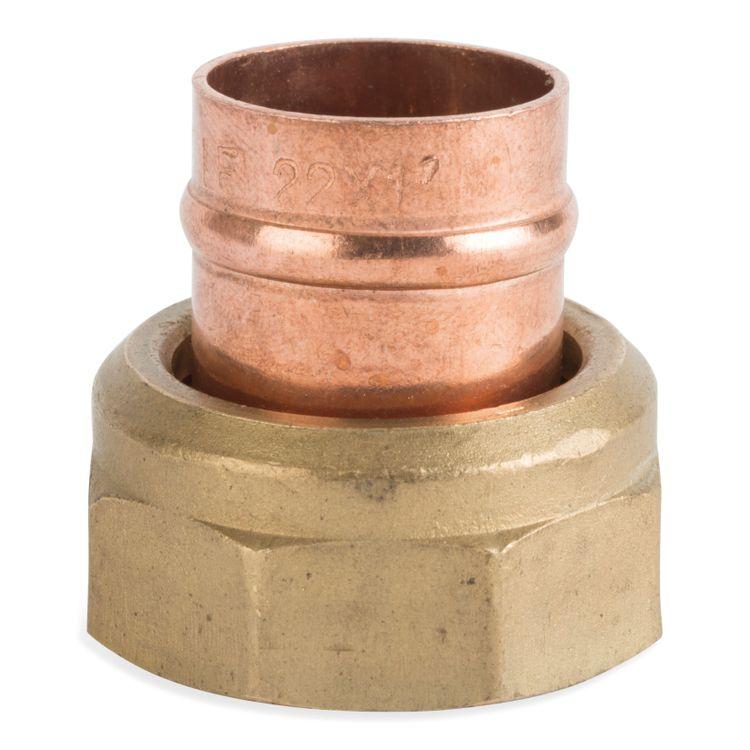 C905SCSR Image - Solder Ring Straight Cylinder Union