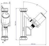 SP22S Schematic - Double Auto In Line Micro Pump
